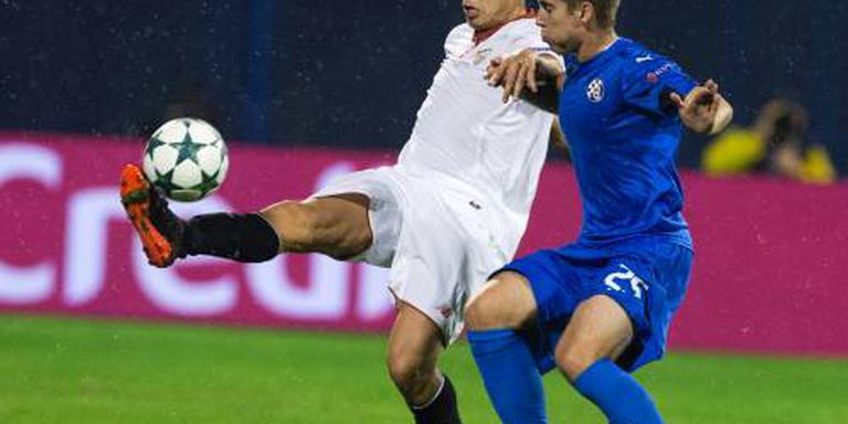 Juventus wint in Lyon met tien man