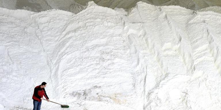 Rijkswaterstaat vult zout aan voor de winter