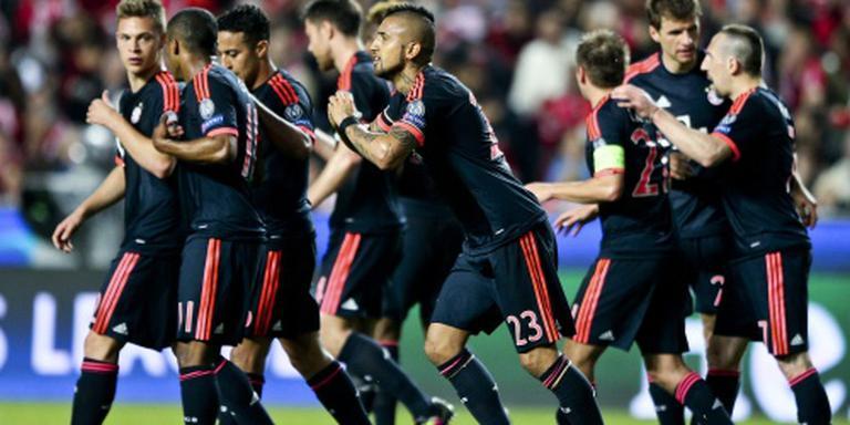 Bayern door na gelijkspel bij Benfica
