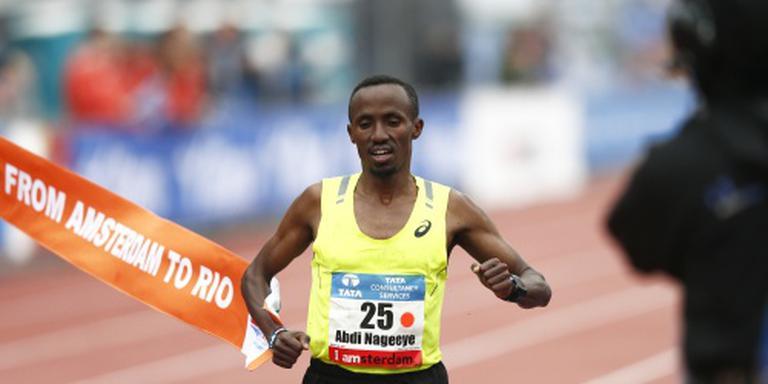 Nageeye valt record halve marathon aan