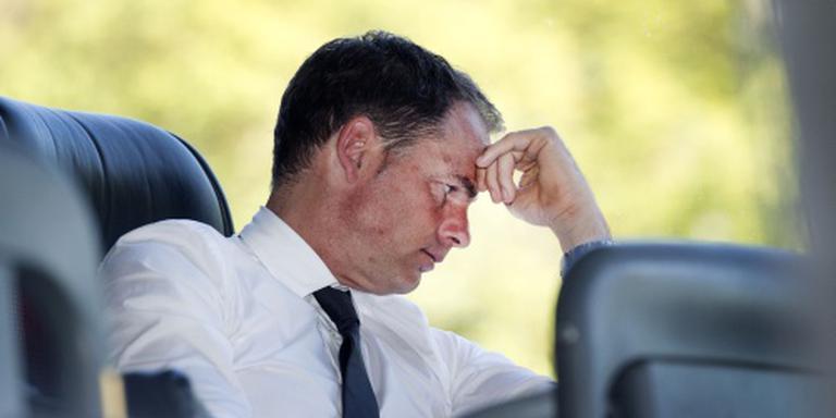 'Trainer Frank de Boer zegt Ajax vaarwel'