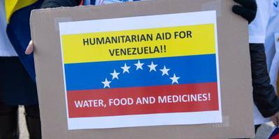 'Hulpzending bereikt Venezuela via Brazilië'