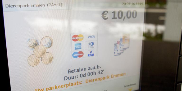 Proef op de som: 32 minuten parkeren kostte 10 euro