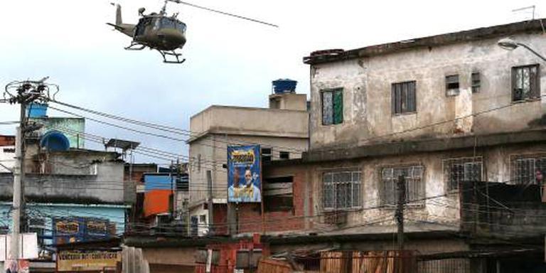 Doden bij crash politiehelikopter Rio