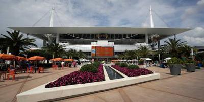 'GP Miami in 2021 bij Hard Rock Stadium'
