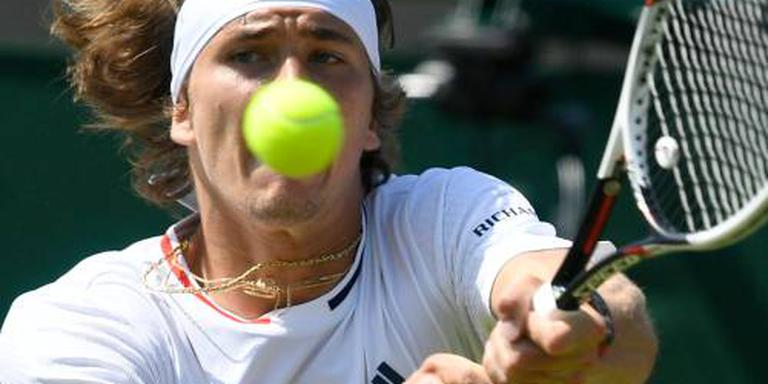 Zverev in drie sets langs Duckworth