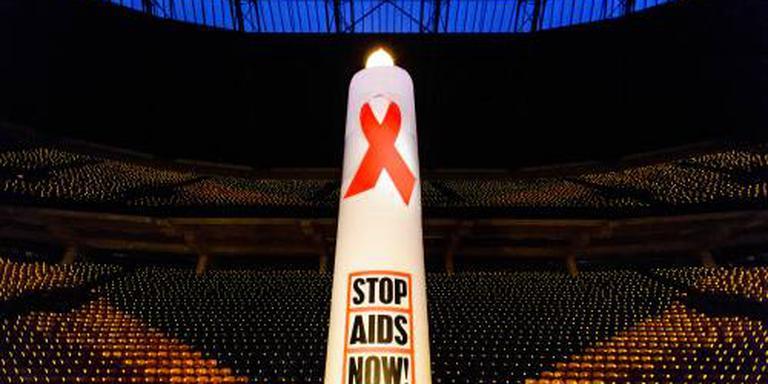 Grote protestmars tegen aids van start