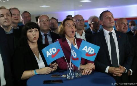 AfD grootste partij in Duitse deelstaat Thüringen