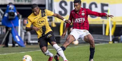 Derby tussen NAC en Willem II onbeslist