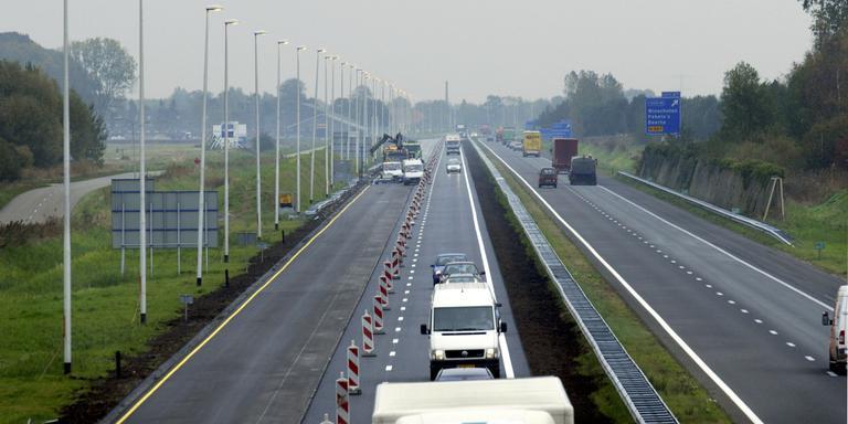 Verkeershinder door werk aan snelwegen