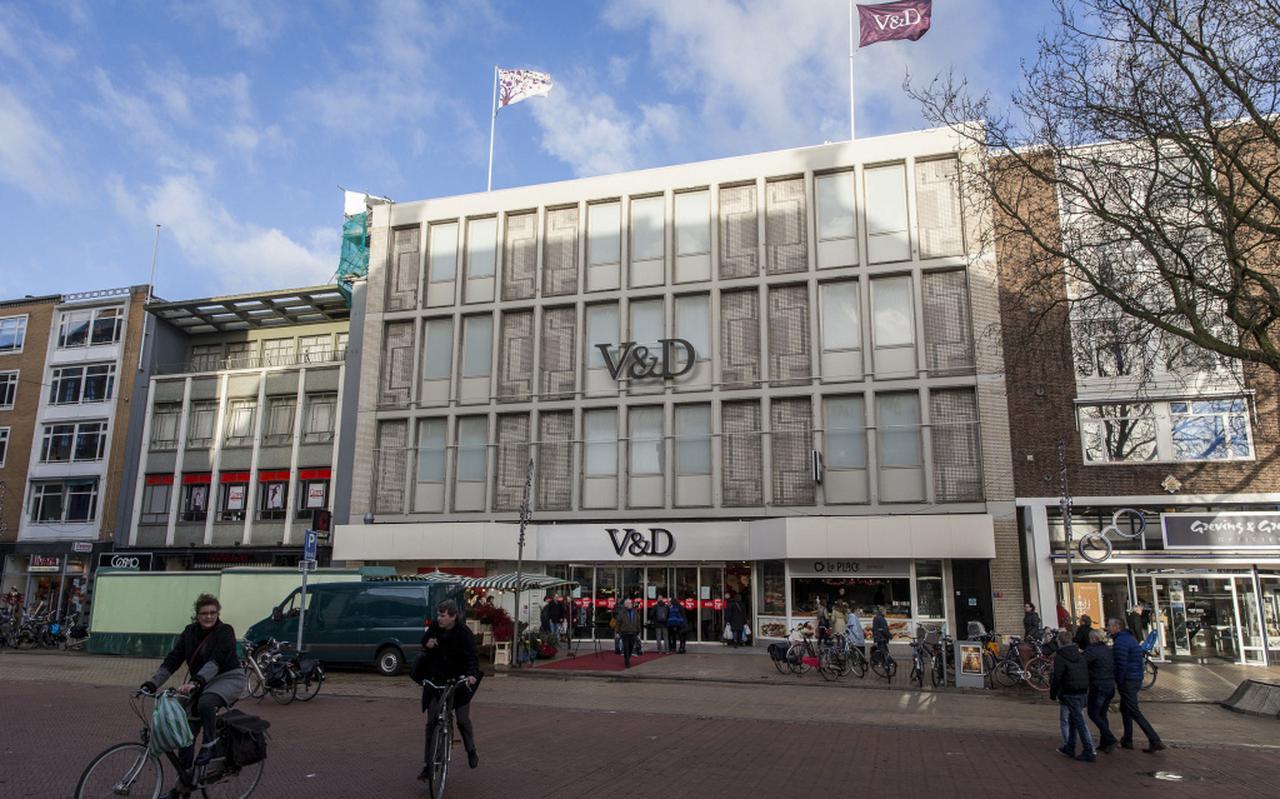 V&D in Groningen. FOTO ARCHIEF DVHN
