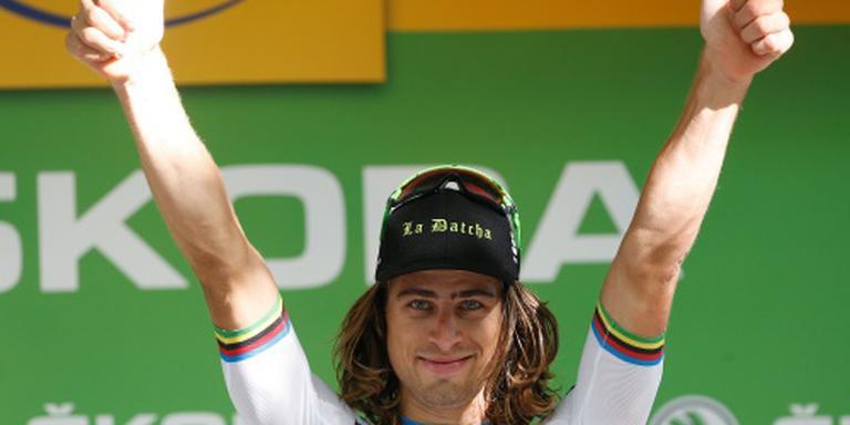 Sagan krijgt prijs van de strijdlust