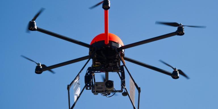 Vlieveld heeft last van drones. FOTO ANP