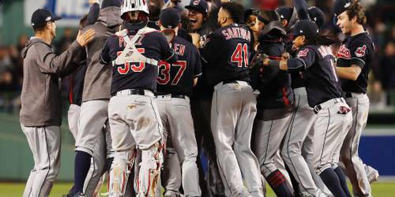 Indians naar World Series