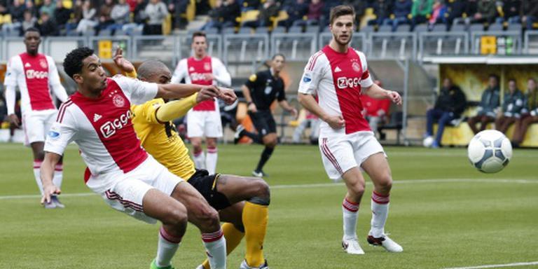 Ajax verspeelt koppositie