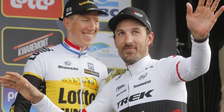 Cancellara na Dumoulin in tijdrit Giro