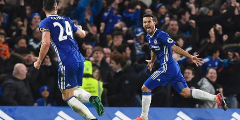 Chelsea koploper na winst op Spurs