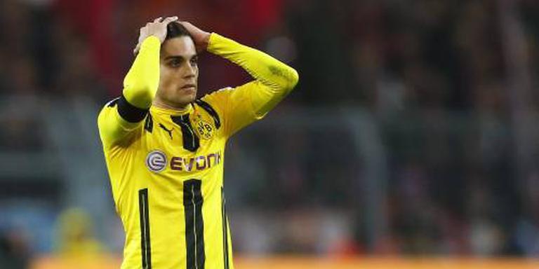 Borussia Dortmund onderuit bij Frankfurt
