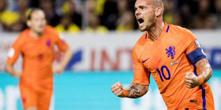 Sneijder: geluk was niet aan onze zijde