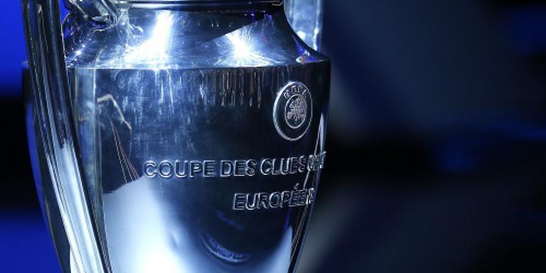 Top vier grote landen in Champions League