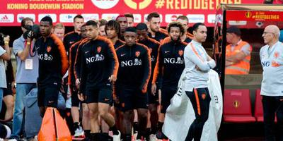 Oranje traint met 23 fitte internationals