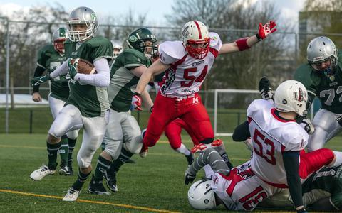 Groningen Giants zetten American Football op de kaart