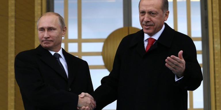 Poetin en Erdogan zoeken weer toenadering