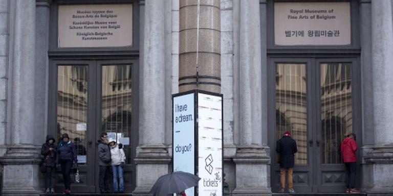 Belgische musea zwaarder beveiligd