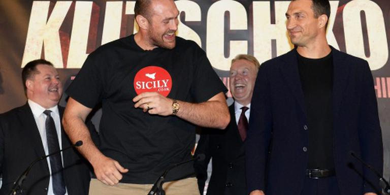 Klitsjko wil schorsing bokskampioen Fury