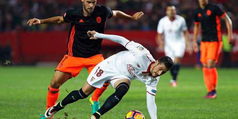 Sevilla blijft in spoor Real Madrid