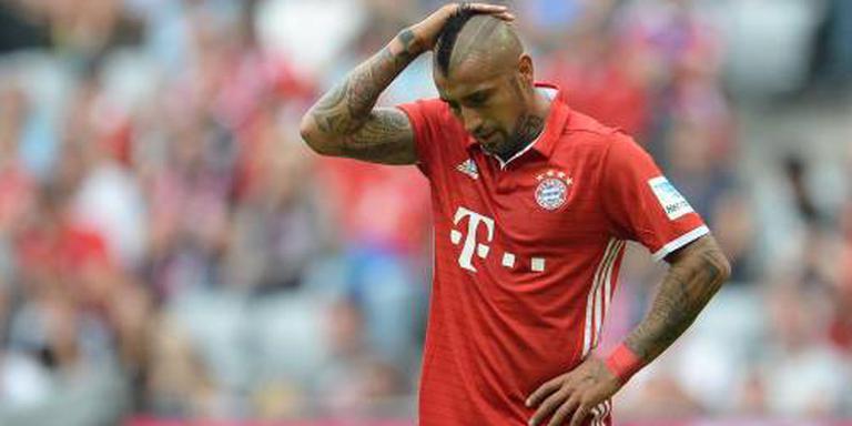 Vidal traint mee bij Bayern München