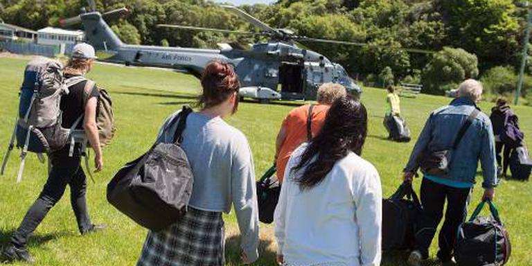 Nederlanders met vliegtuigje weg uit Kaikoura