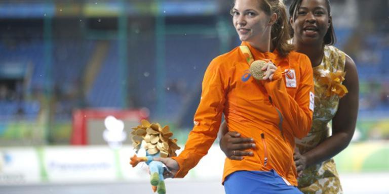 Paralympisch team publiek gehuldigd in Utrecht