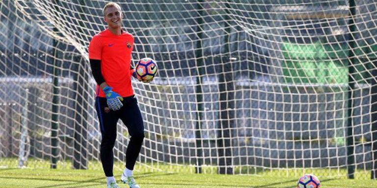 Debuut doelman Cillessen bij FC Barcelona
