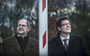 Burgemeester Karel Loohuis (links) van Hoogeveen en zijn collega Roger de Groot van De Wolden. FOTO CORNÉ SPARIDAENS