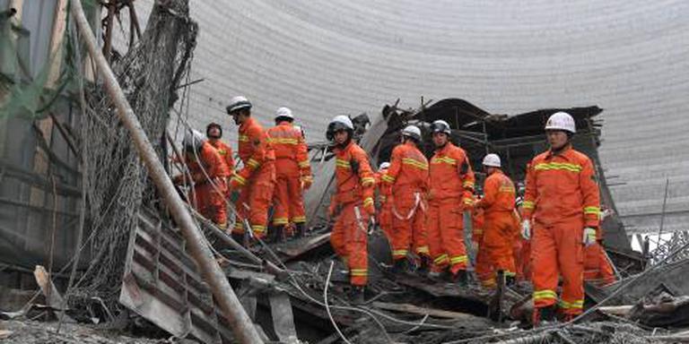 China arresteert negen mensen om bouwongeval