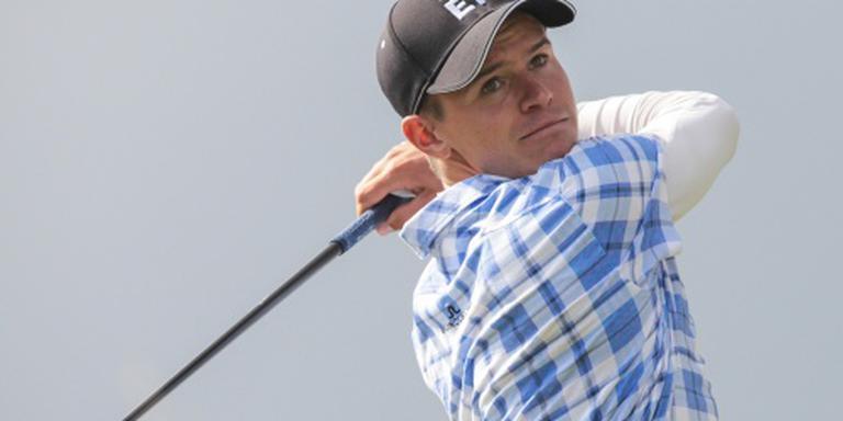 Golfer Huizing in achterhoede