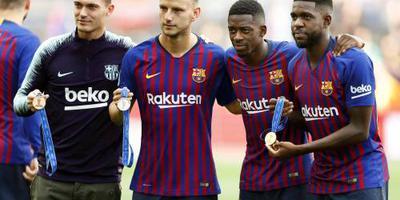 Barcelona zonder Vermaelen tegen PSV