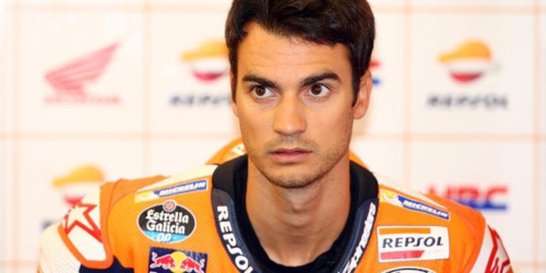 Pedrosa troeft Rossi af op Misano