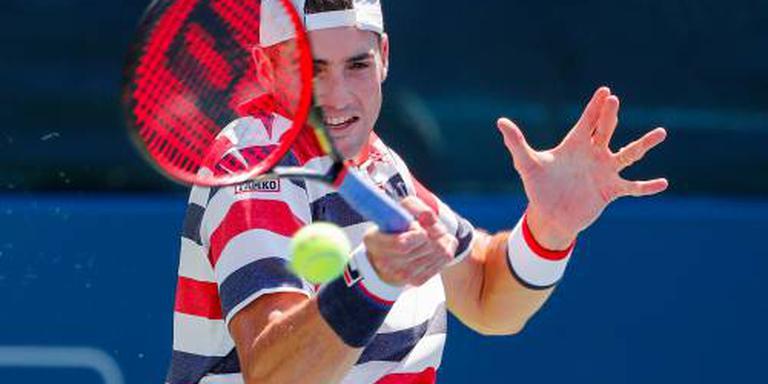 Tennisser Isner bereikt finale in Atlanta