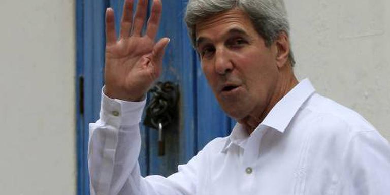 Overleg tussen Lavrov en Kerry over Syrië