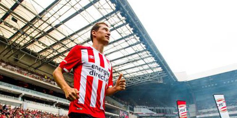 PSV met Schwaab op middenveld tegen Willem II