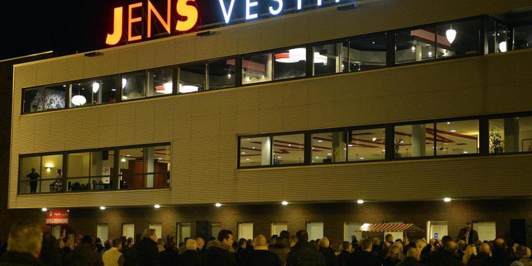 De JENS Vesting, het stadion van FC Emmen. FOTO ARCHIEF DVHN