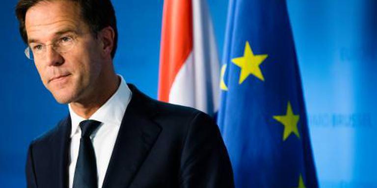 Rutte geeft Oekraïneverdrag nog niet op