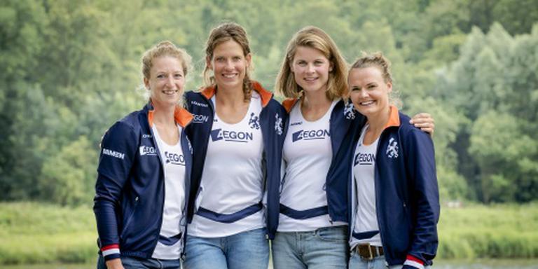 Vrouwen dubbelvier naar finale in Rio