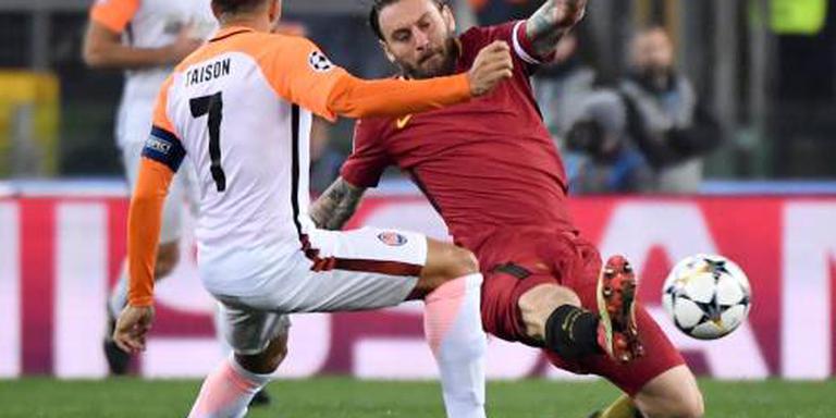 AS Roma naar kwartfinales van Champions League