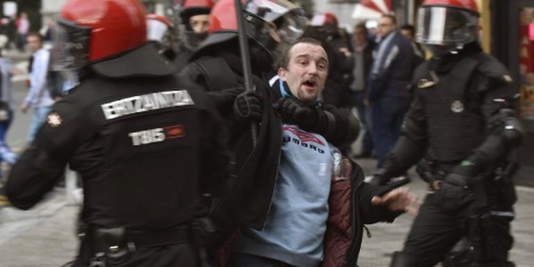 Fans van Bilbao en Marseille op de vuist