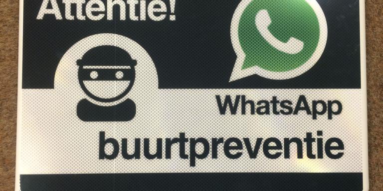 Buurtwacht Whatsapp. FOTO ARCHIEF DVHN