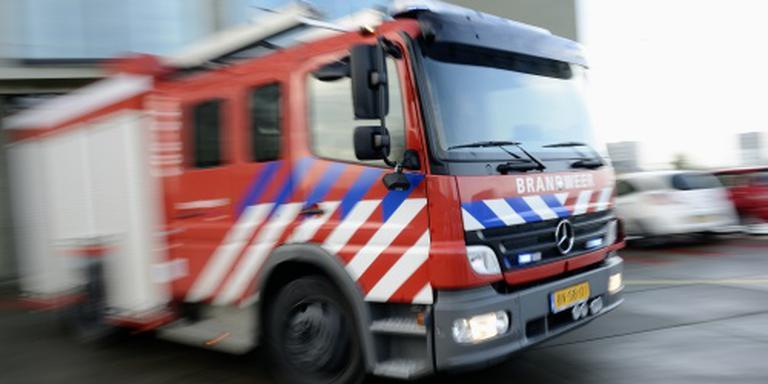 Asbest vrijgekomen bij grote brand Harlingen