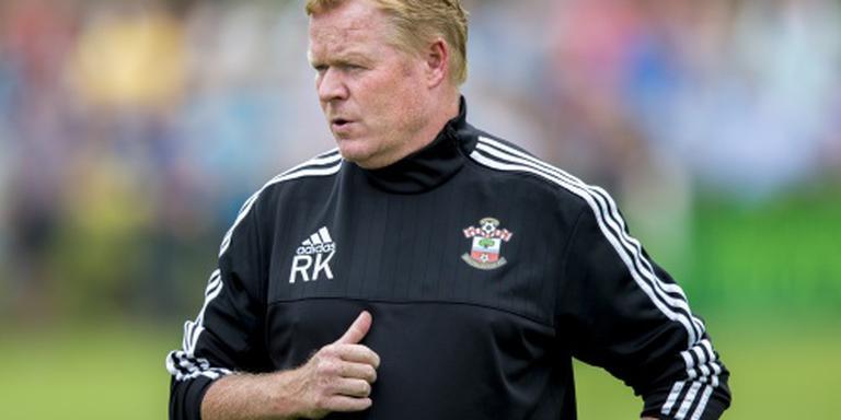 Koeman wacht op Everton en Southampton